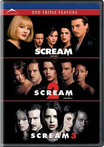 Scream Trilogy - DVD Box Set [Miramax Horror Wes Craven Courteney Cox] NEW