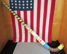 Vintage Sportcraft Wood Field Hockey Stick Mulberry England Great Display!