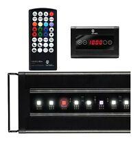 """Current Usa Satellite Plus Pro 24""""-36"""" Led Freshwater Aquarium Light W/Control"""