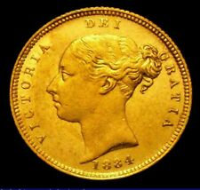 More details for 1884 gef queen victoria half sovereign cgs 65