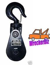"3 TON SNATCH BLOCK, 3"" SHEAVE - WRECKER TOW TRUCK, CRANE EQUIPMENT, WINCH, CABLE"