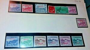 Pakistan Stamps. service
