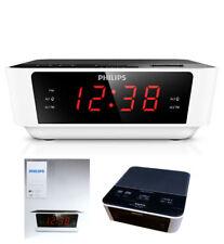 Uhrenradio Philips Radiowecker Dual Alarm Sleep timer Extra großer Snooze Button