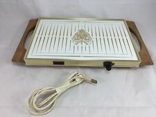 Georges Briard Warm-O-Tray 14x9 Surface Food Warmer Vintage