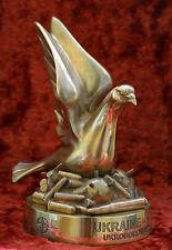 Ukraine NATO Partnership Peace militaria sculpture bust H=21 cm.