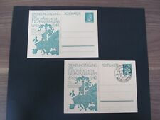 DR Postkarte Nr. P 309I, 1942, 2x,  Ungebraucht + Sonderstempel Mi 48€ *CC778*