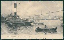 Napoli Città Barche cartolina XB0060