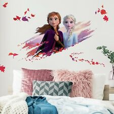 Frozen II Disney RoomMates Vinyl Giant Wall Bedroom 15 Removable Decal Stickers