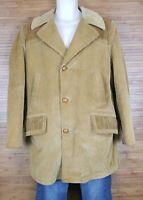 The Country Coat Sears Corduroy Barn Jacket Vintage Brown Mens 40 Regular