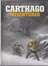 CARTHAGO ADVENTURES HARDCOVER (NEW,SEALED) HUMANOIDS