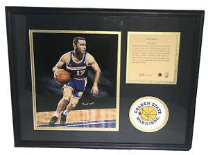 Chris Mullin Golden State Warriors 1995 Framed & Matted Lithograph Art Print