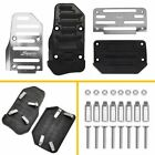 Silver Brake Pedal Cover Foot Car Automatic Treadle Parts Accessories Universal