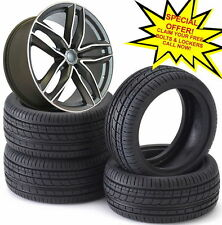 "19""rs6 c m gm Alloy Wheels Audi A5/A8/a4/a6/Vw passat/Skoda/seat-2554019 tyres"