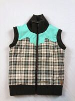 BURTON Warm Ski Full Zip WINTER VEST Jacket Coat Kids Size Small