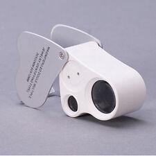 30X21mm LED Illuminated Jewellers Jewellery Loupe Magnifying Glass Eye Lens