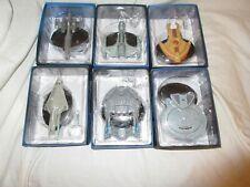 Eaglemoss Star Trek please choose from list : BOXED MODELS