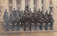 D76/ Montpelier? Vermont VT Real Photo RPPC Postcard 1907  Fraternal Group Men