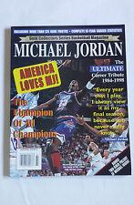 Gold Collectors Series Michael Jordan Rare Cover Tribute Basketball Magazine
