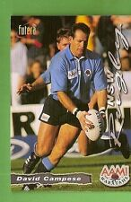 1996 RUGBY UNION  CARD #53 DAVID CAMPESE,  NSW  WARATAHS
