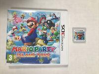 Mario Party: Island Tour - Nintendo 3DS  - VGC