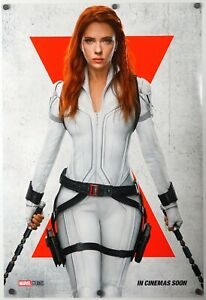 Black Widow - original DS movie poster 27x40 D/S 2021 INTL Revised Adv Avengers