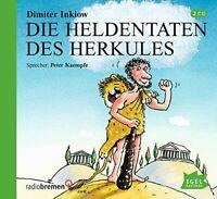 DIMITER INKIOW - DIE HELDENTATEN DES HERKULES 2 CD NEU