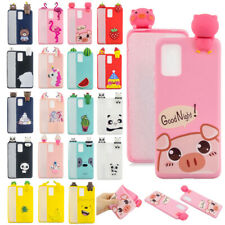 Cute Animals Cartoon Rubber Soft Case Cover For Samsung Note 20/Note 20 Ultra 5G