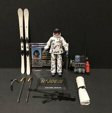 G.I. Joe 25th / 50th Snow Job Snowjob Figure 100% Complete w/ File Card