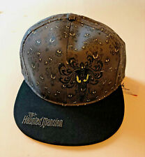 DISNEY HAUNTED MANSION WALLPAPER EMBROIDERED YOUTH HAT CAP ~ BRAND NEW!