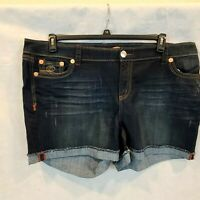 SEVEN 7 JEANS EMBROIDERED  DENIM STRETCH JEANS SHORTS NWT CHOOSE SIZES 18-24