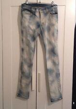 'Ksubi' Awesome Pale Blue Denim Jeans - Super Cool -BNWOT -Size 28