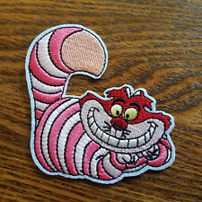 "ANPA-Cheshire Cheshire Cat Alice Wonderland 3.5/"" Embroidered Patch-USA Mailed"
