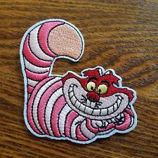 "ANPA-Cheshire Cheshire Cat Alice Wonderland 3.5/"" Embroidered Patch-USA Mailed"