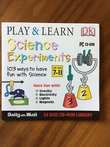 PC CD-ROM - DK Play & Learn: Science Experiments (Ages 7-11) - Daily Mail Promo