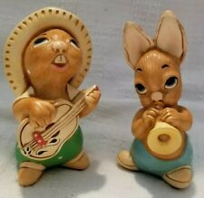 Pendelfin Rocky And Phumf Musical Bunnies Very Cute Made In England