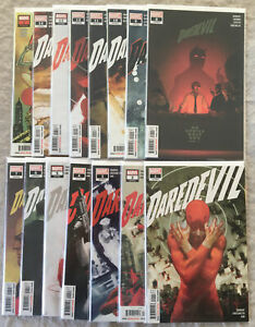 The Daredevil volume 5 issues 1 to 14 NM Kingpin, Elektra, Punisher
