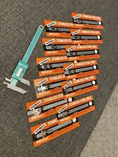 Mitutoyo plastic digital caliper + 12 Stainless Steel Rules still in the pacakge