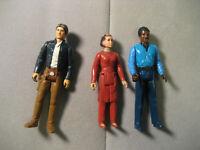 Vintage Star Wars 1980 Bespin Han Solo Bespin Princess Leia And Lando Lot of 3