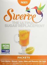 Swerve Erythritol Sweetener Packets 120 g, Sugar Free, Zero Calories