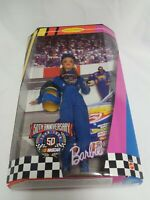 Barbie Doll 50th Anniversary Nascar Barbie New in Box