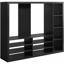 Entertainment Center Wall Unit Contemporary Cabinet TV Stand Furniture Storage