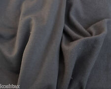 Gray Modal Cotton Spandex Fleece Fabric by Yard 4 Way Stretch 11/15 VERY SOFT