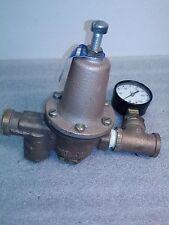 Watts U5B Water Pressure Reducer w/ gauge 0-200psi