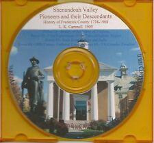 Shenandoah Pioneers - Frederick County Virginia History
