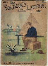 The SOLDIER'S LETTER. For November 1898. Vol. 1. No. 2. Manila, P.I. Span Am War