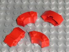 4 x LEGO Red brick 3063 / Set 5770 7665 8654 5571 10019 395 391 343 364 630 5563