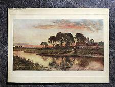 Vintage Ridgway Pennsylvania County National Bank Color Print