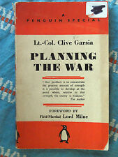 Penguin Special S96 Planning The War by Lt.-Col. Clive Garsia 1941 Strategy