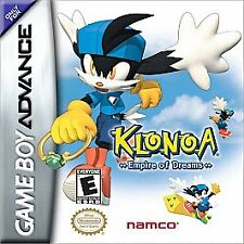 KLONOA EMPIRE OF DREAMS GAME BOY ADVANCE GBA COSMETIC WEAR