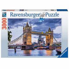 New RAVENSBURGER Puzzle 3000 Pieces Tiles Jigsaw LONDON